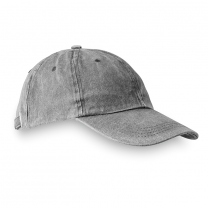 6 panels baseball cap washed
