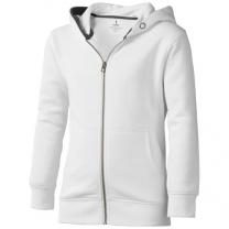 Arora celopropínací svetr na zip s kapucí pro děti