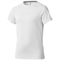Dětské triko Niagara s krátkým rukávem, s povrchovou úpravou odvádějící vlhkost